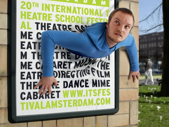 International Theatre School Festival Print Ad -  Poster, 2