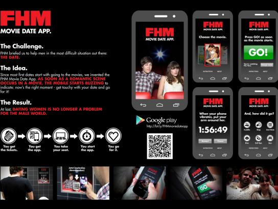 FHM Digital Ad -  Movie Date App