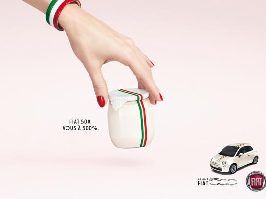 Fiat Print Ad -  Hands, Italy
