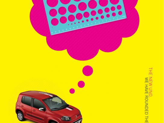 Fiat Print Ad -  Rounded square