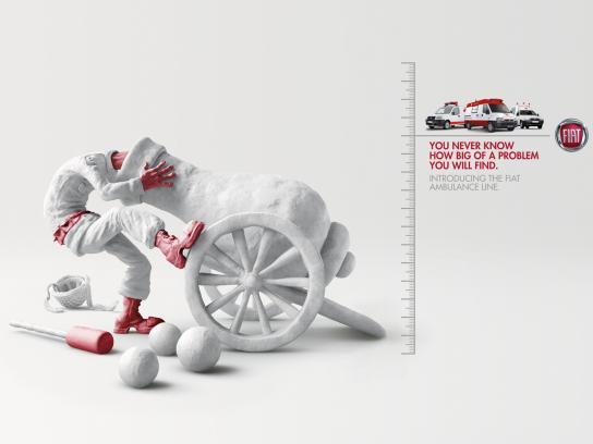 Fiat Print Ad -  Cannon