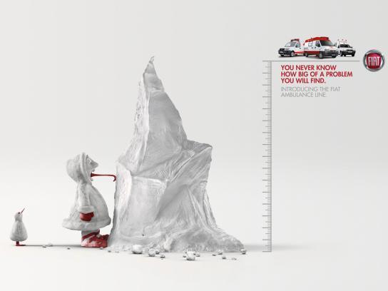 Fiat Print Ad -  Iceberg