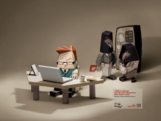 Fiat Print Ad -  Office