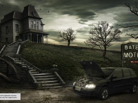 Fiat Print Ad -  Psycho