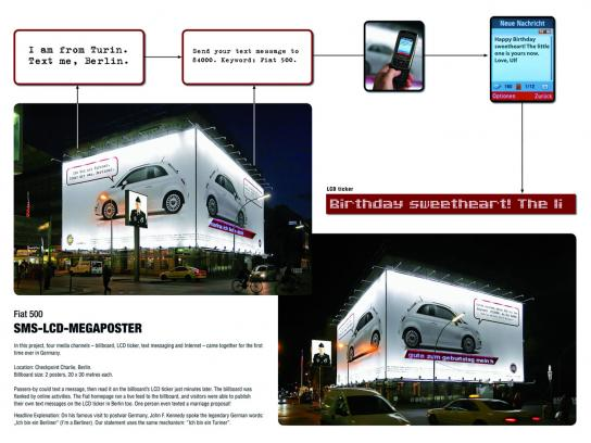 Fiat Ambient Ad -  Interactive