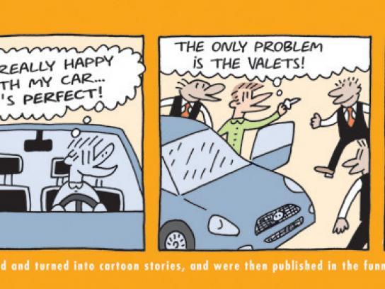 Fiat Print Ad -  Valet