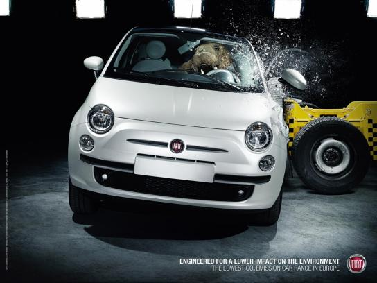 Fiat Outdoor Ad -  Walrus