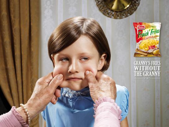 Fraich'Frites Print Ad -  Grandchildren, 2
