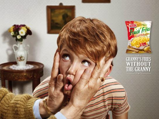 Fraich'Frites Print Ad -  Grandchildren, 3