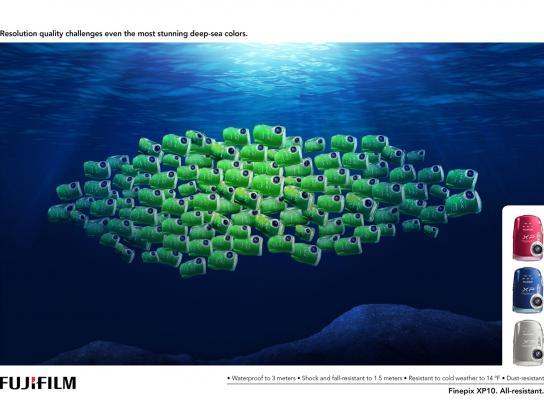 Fuji Print Ad -  Deep-sea