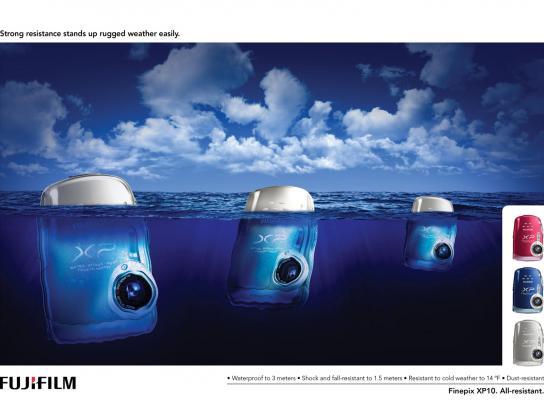 Fuji Print Ad -  Iceberg