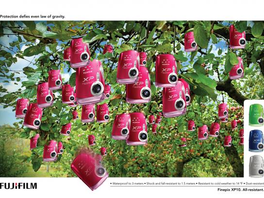 Fuji Print Ad -  Apple