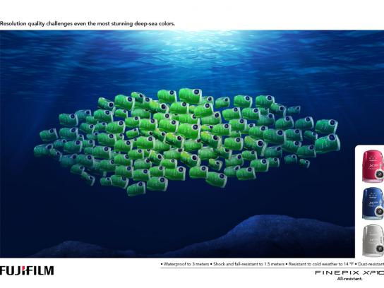 Fuji Print Ad -  Fishes