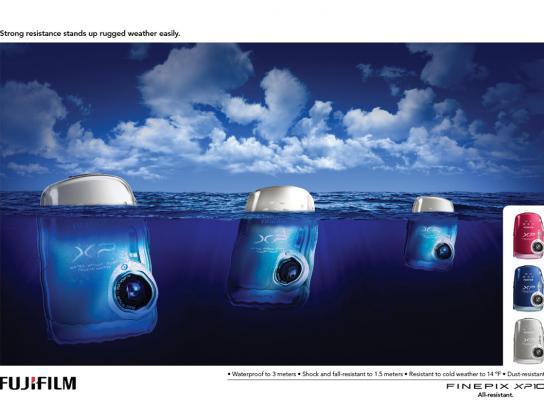 Fuji Print Ad -  Icebergs