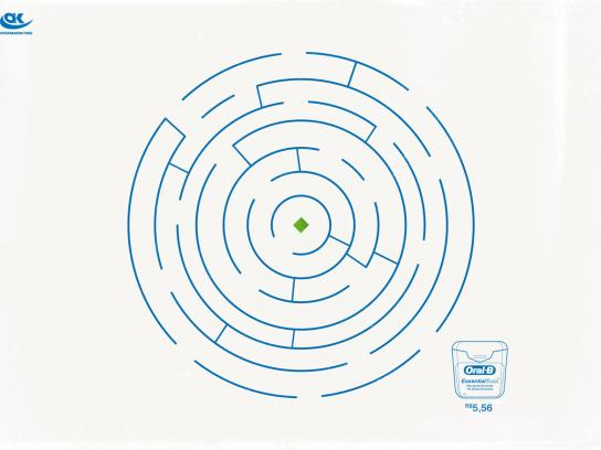 OK Supermarket Print Ad -  Maze, 1