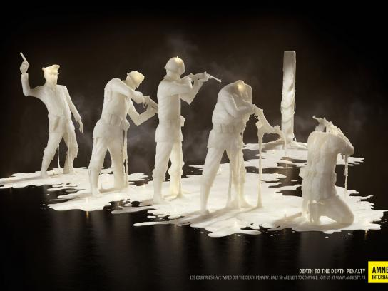 Amnesty International Print Ad -  Firing squad