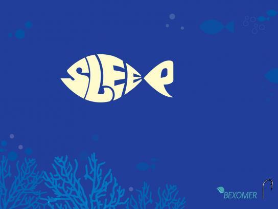 Bexomer Print Ad -  Fish