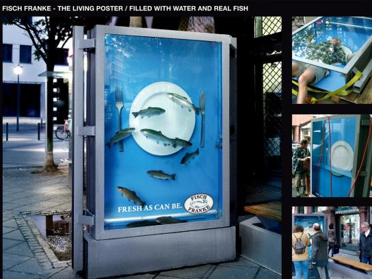 Fish Franke Ambient Ad -  Fish