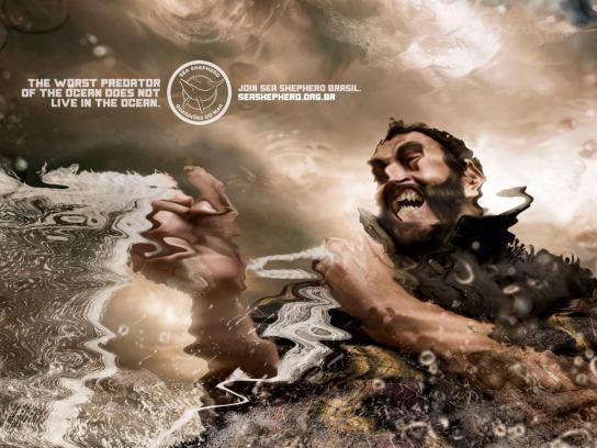 Sea Shepherd Print Ad -  Fishnet