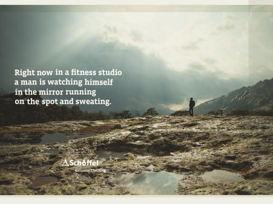 Schoeffel Outdoor Ad -  Campaign With a View, Fitness Studio