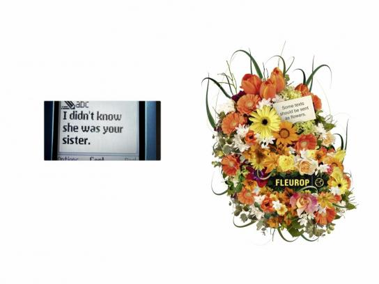Fleurop Print Ad -  Sister