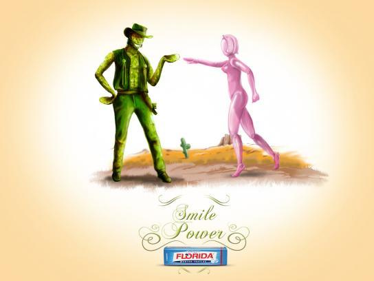 Florida Chewing Gum Print Ad -  Cactus