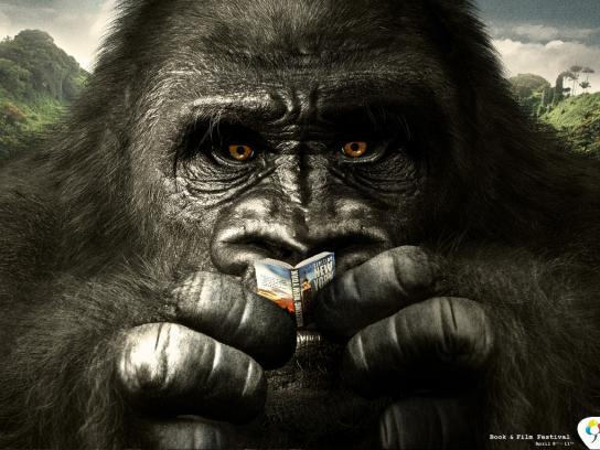 Florida Center Print Ad -  Gorilla