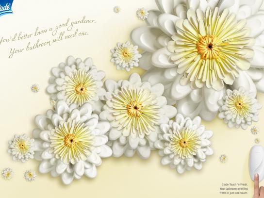 Glade Print Ad -  Flower, 1