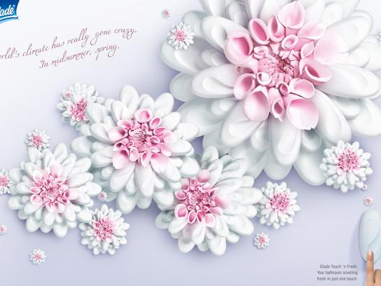 Glade Print Ad -  Flower, 2