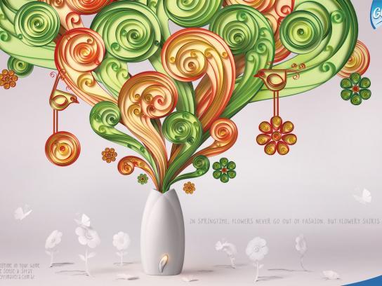 Glade Print Ad -  Springtime, 3