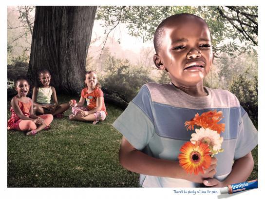 Bonjela Print Ad -  Flowers