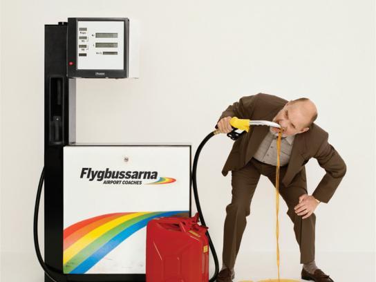 Flygbussarna Print Ad -  Drink, 2