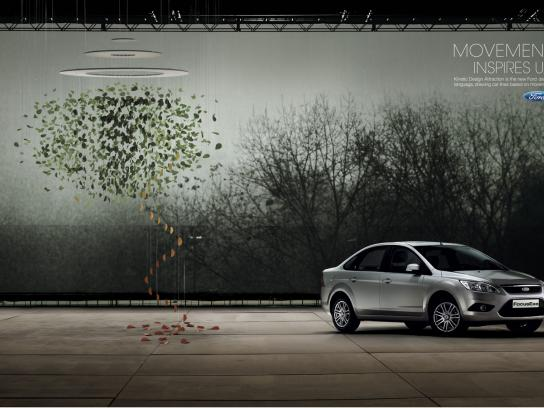 Ford Print Ad -  Kinetic Design, 1
