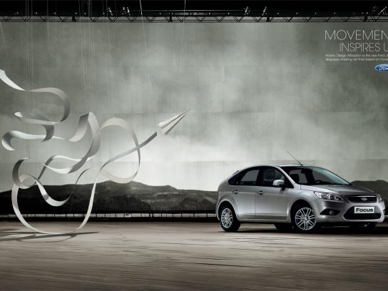 Ford Print Ad -  Kinetic Design, 2
