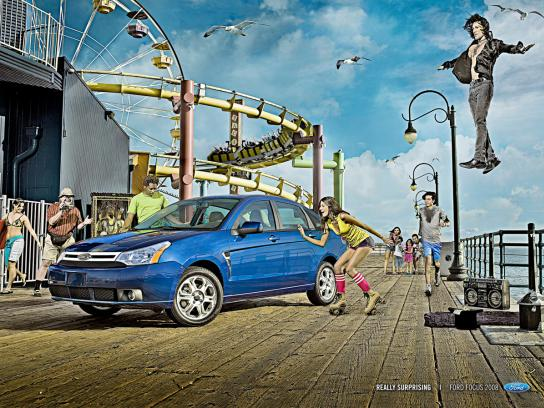 Ford Print Ad -  Levitation