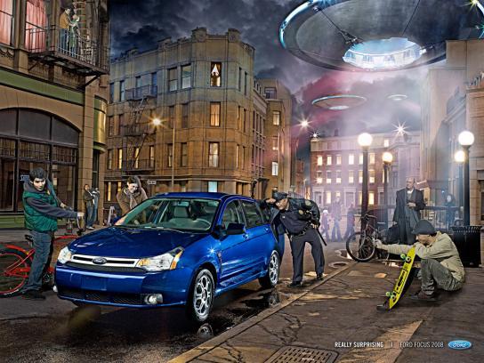 Ford Print Ad -  Ufo