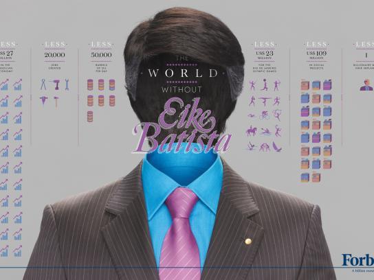 Forbes Print Ad -  Billionaires, Eike Batista