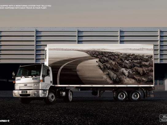 Ford Print Ad -  Stampede