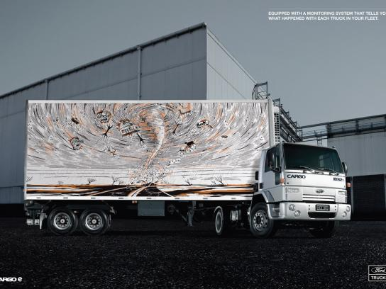 Ford Print Ad -  Tornado