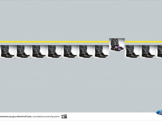 Ford Print Ad -  Shoes