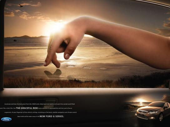 Ford Print Ad -  Sunset