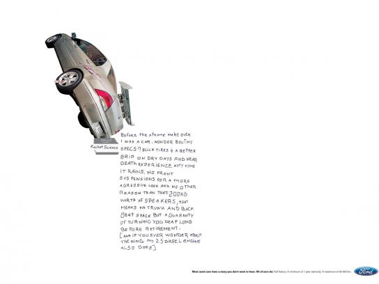 Ford Print Ad -  Rocket science