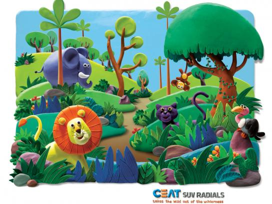 CEAT Print Ad -  Forest