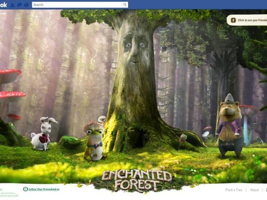 FedEx Digital Ad -  Enchanted Facebook App