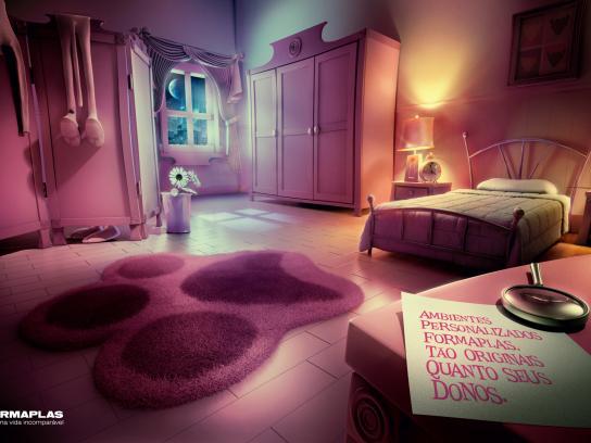 Formaplas Print Ad -  Pink Panther