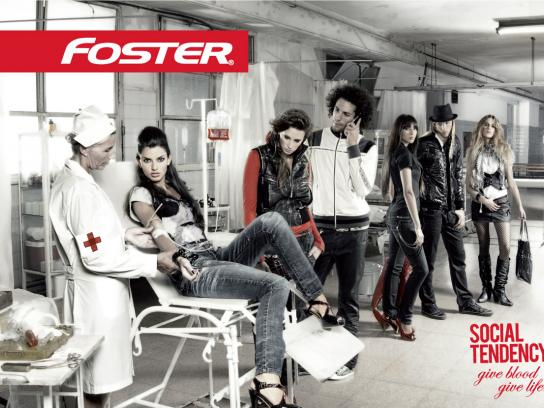 Foster Print Ad -  Blood