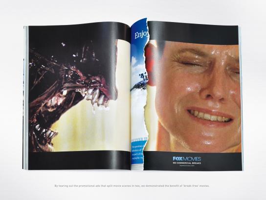 Fox Print Ad -  Alien 3