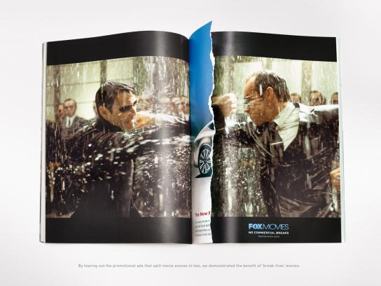 Fox Print Ad -  Matrix Reloaded