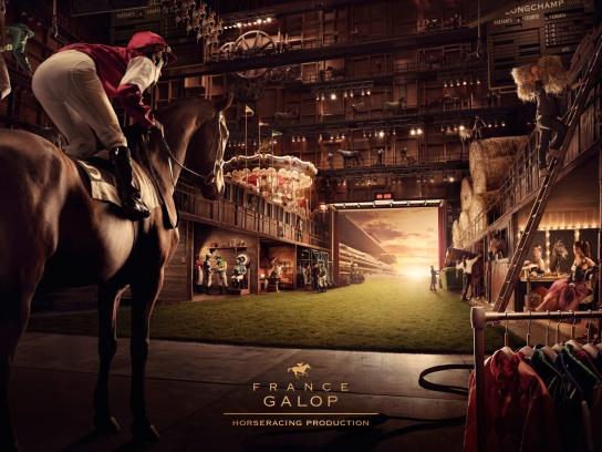 France Galop Print Ad -  Backstage