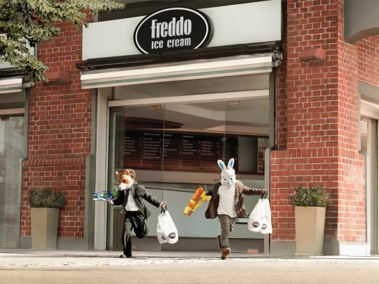 Freddo Print Ad -  Robbery